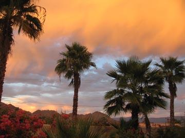 La Quinta sunset