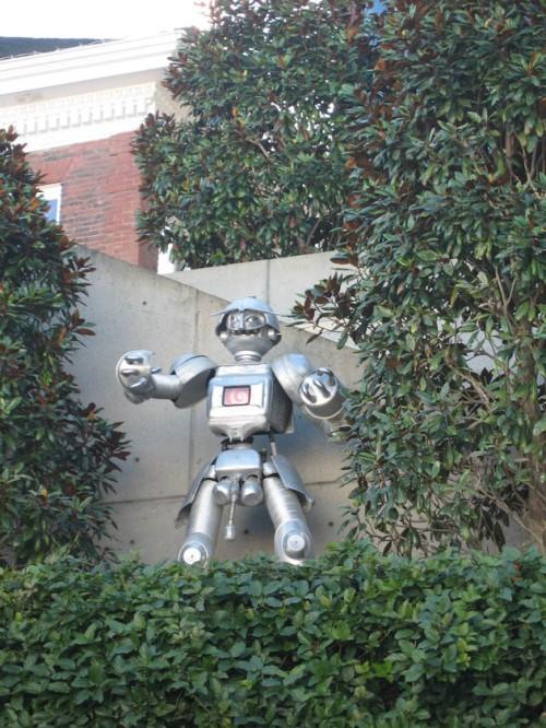 Robotstatue